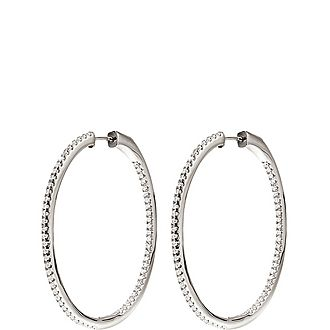 Fashionably Hoop Earrings Large