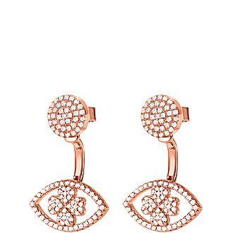 Heart4Heart Mati Short Earrings