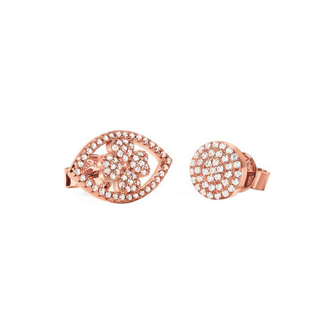 Heart4Heart Mati Stud Earrings, ${color}