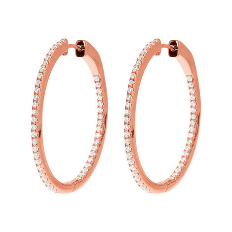 Fashionably Hoop Earrings, ${color}