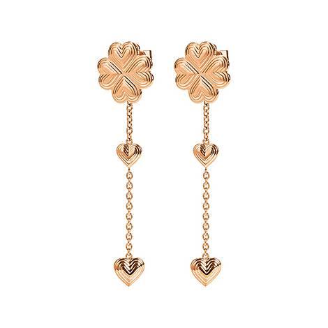 Heart4Heart Blossom Long Earrings, ${color}