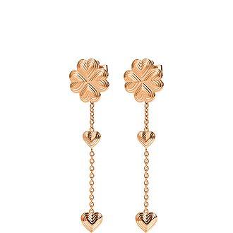 Heart4Heart Blossom Long Earrings