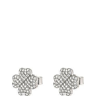 Mini Clover Stud Earrings