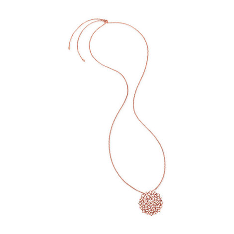 Bouquet Long Necklace, ${color}