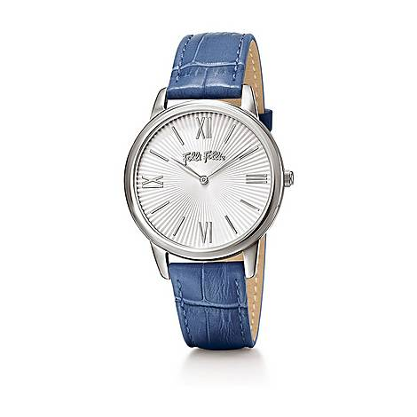 Match Point Leather Watch, ${color}