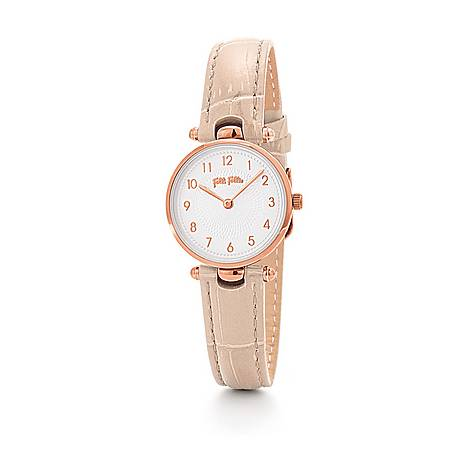 Lady Club Leather Watch, ${color}
