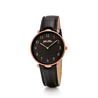 Lady Club Large Leather Watch
