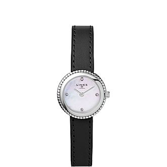 Effervescence Leather & Mother of Pearl Watch
