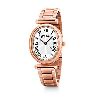Metal Chic Oval Watch