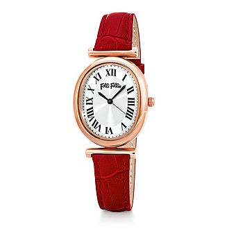 Metal Chic Leather Watch