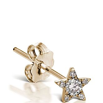 4.5mm Diamond Star Stud