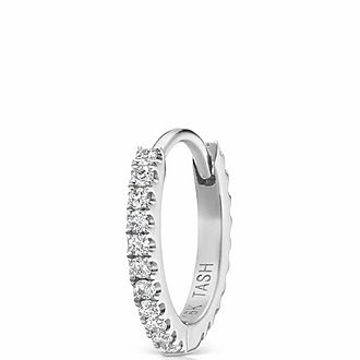 8mm Diamond Eternity Ring