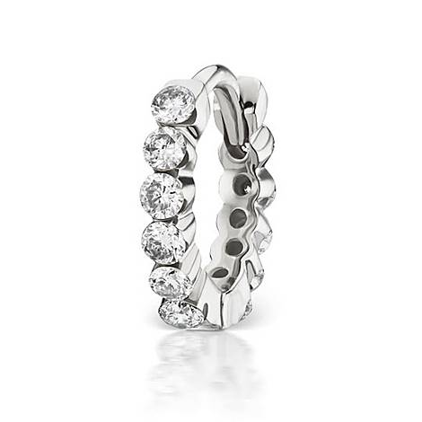 6.5mm Diamond Invisible Set Eternity Ring, ${color}