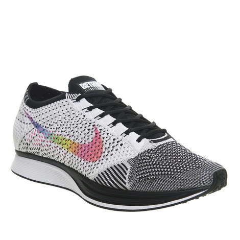 Be True Flyknit Racer Trainers, ${color}