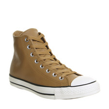 All Star Leather High Tops