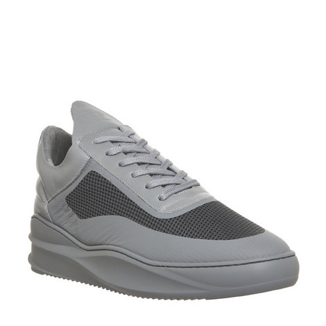 Sky Seamless Low Top Trainers, ${color}