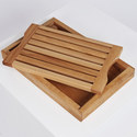 Ash Crumb Catcher Bread Board, ${color}