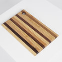 Irregular Striped Cutting Board Large, ${color}