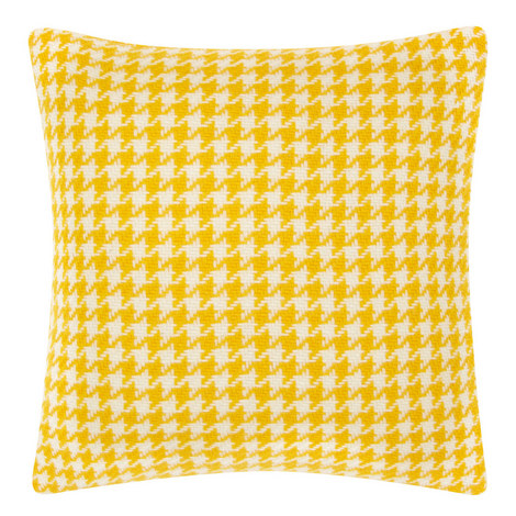 Houndstooth Wool Cushion, ${color}