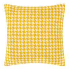 Houndstooth Wool Cushion