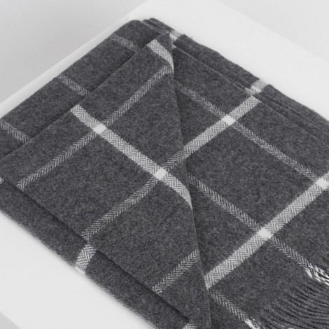 Classic Oxford Windowpane Throw, ${color}
