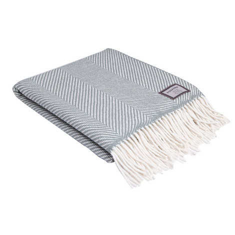 Classic Giant Herringbone Throw, ${color}