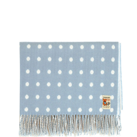 Polka Dot Baby Throw, ${color}