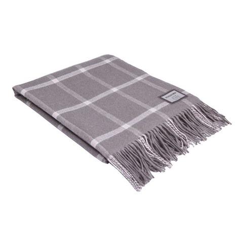 Windowpane Weave Throw, ${color}