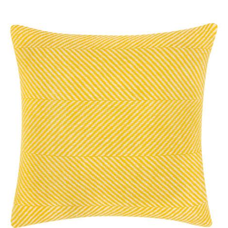 Herringbone Knitted Cushion, ${color}
