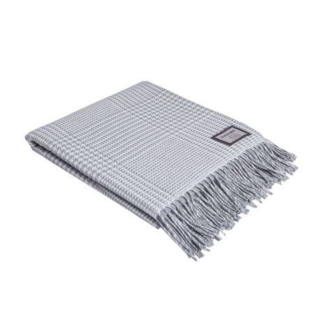 Check Houndstooth Throw, ${color}