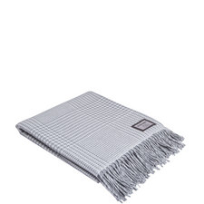 Check Houndstooth Throw