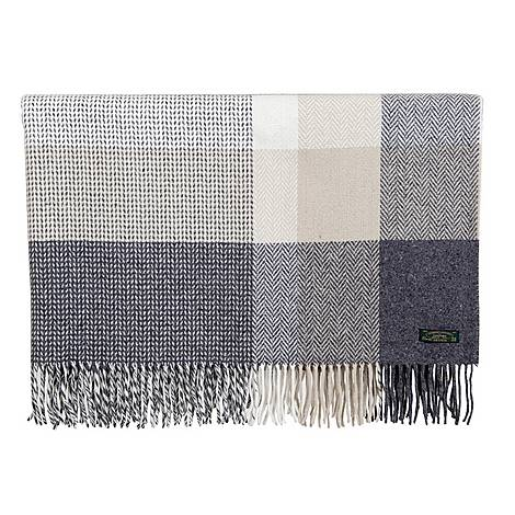Large Check Throw, ${color}