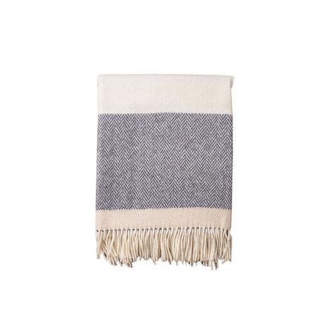 Herringbone Stripe Throw, ${color}