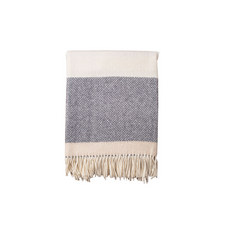 Herringbone Stripe Throw