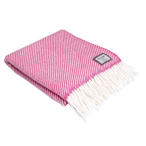 Diagonal Stripe Throw, ${color}