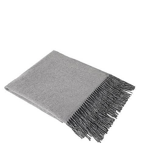 Fringed Cashmere Throw, ${color}