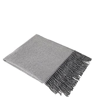Fringed Cashmere Throw