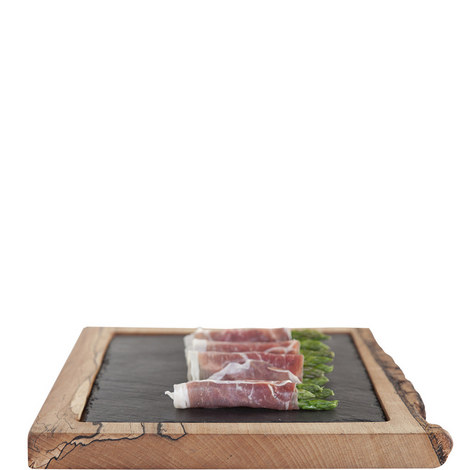 Wood and Slate Platter, ${color}