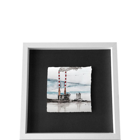 Poolbeg Ceramic Framed Small, ${color}
