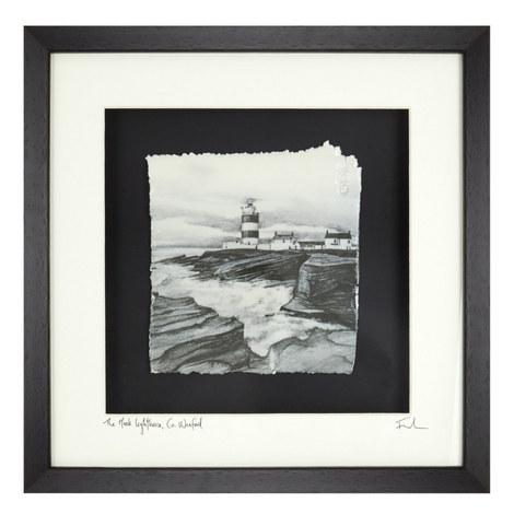 Captured Memories Hook Lighthouse Frame