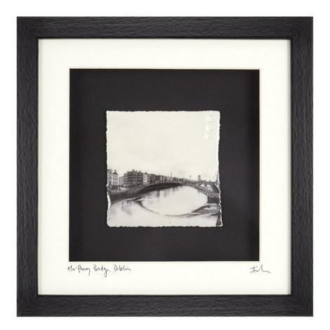 Captured Memories Ha' penny Bridge Frame, ${color}