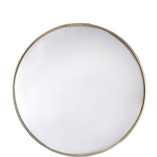 Sparkle and Shine Solid Brass Mirror 60cm