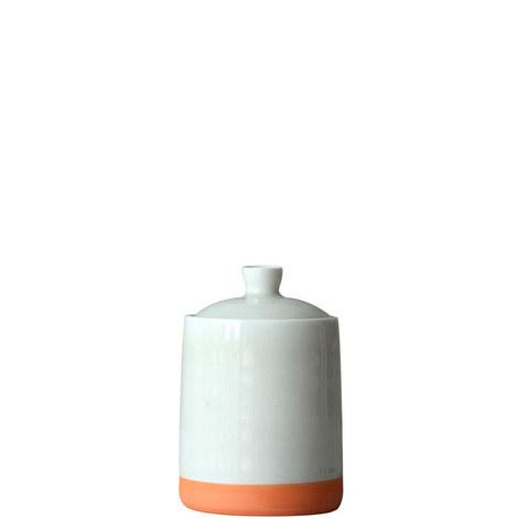 Ceramic Lidded Jar Small, ${color}