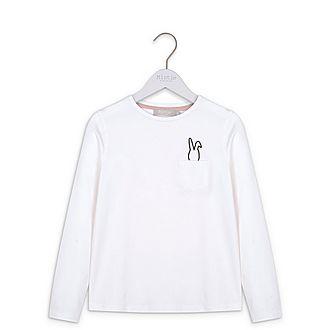 Bunny Print Long Sleeves T-Shirt