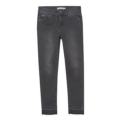 Let Down Hem Jeans, ${color}