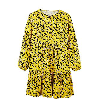 Romy Print Flared Dress