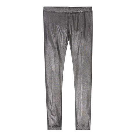 Gunmetal Metallic Leggings, ${color}