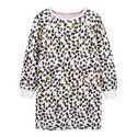 Romy Print Sweatshirt Dress, ${color}