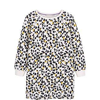 Romy Print Sweatshirt Dress