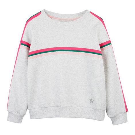 Neon Striped Sweatshirt, ${color}